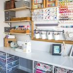 58 Fantastic Art Studio Organization Ideas and Decor (34)