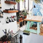 58 Fantastic Art Studio Organization Ideas and Decor (51)