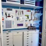 58 Fantastic Art Studio Organization Ideas and Decor (8)