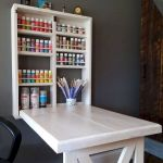 80 Wonderful DIY Art Desk Work Stations Ideas and Decorations (55)