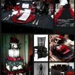 40 Awesome Halloween Wedding Decoration Ideas (3)