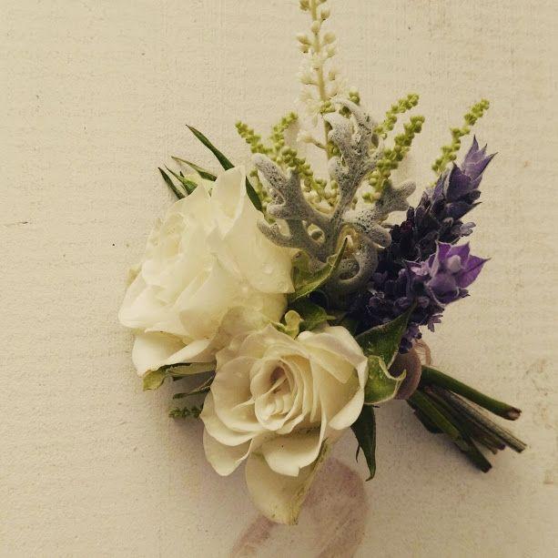 prendido de flores para la solapa