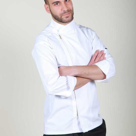 Μπλούζα μαγειρικής με φερμουάρ