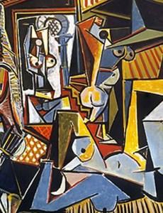 """Пабло Пикассо, «Алжирские женщины (Версия """"О"""")», 1955 год"""