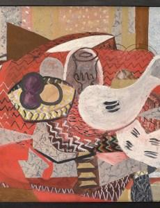 Жорж Брак, Натюрморт с красной скатертью (1934 г.)