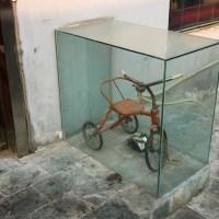 Велосипед в витрине