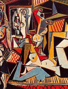Пабло Пикассо. «Алжирские женщины» (версия О)