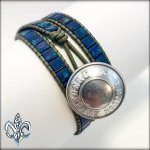 Wrap Bracelet Picasso Blue