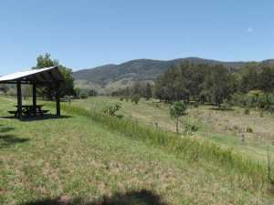 View looking towards Cundle Flat NSW from the picnic area