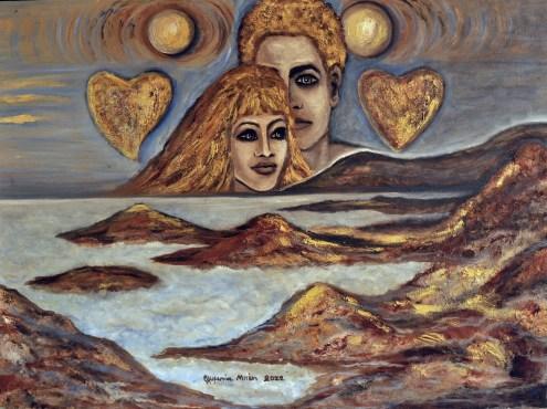 Over the Horizon (Oil on canvas, 60X80 cm)