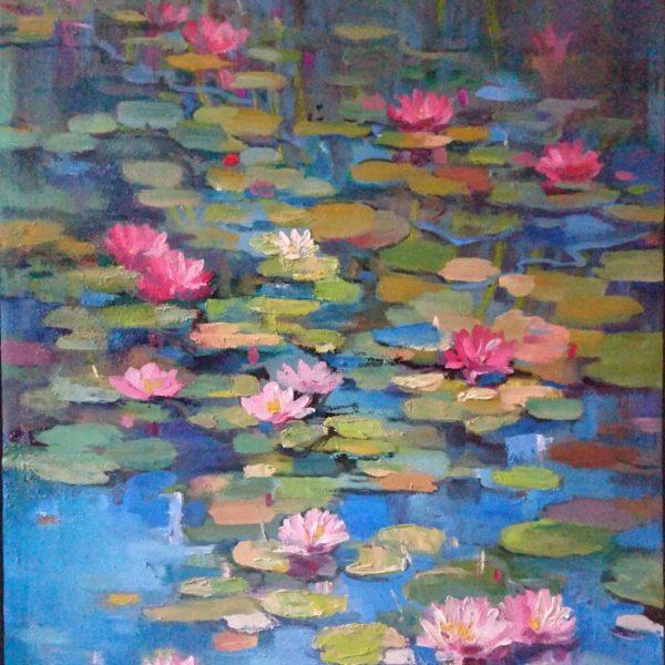 Lilies by Olga Lomax - Buy it at Saatchi Art