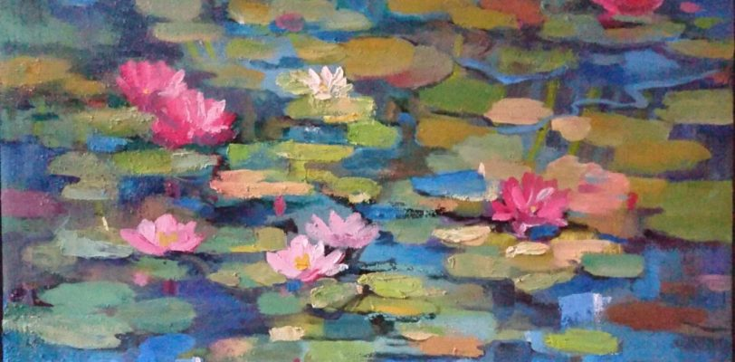 Lilies by Olga Lomax - Buy it at Saatchi Art