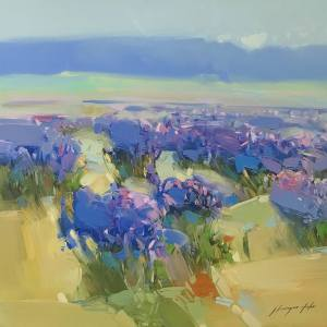 Fields of Lavender by Vahe Yeremyan