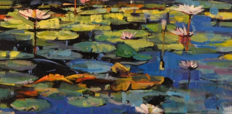 Waterlilies by Marco Ortolan