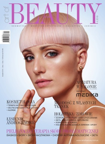 Okładka Art of BEAUTY 04/2018