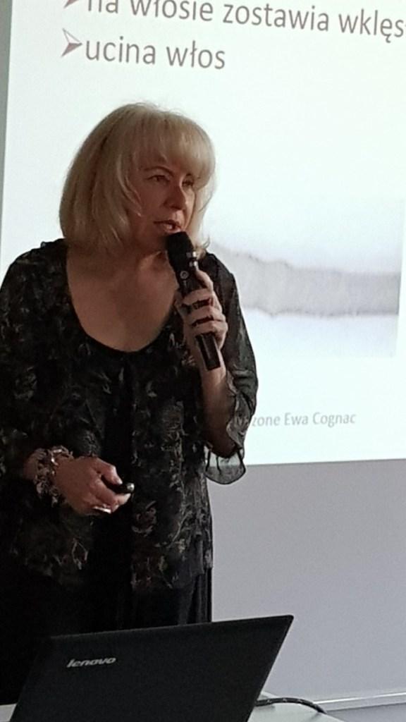 Ewa Cognac, VI Kongres Trychologiczny 2019