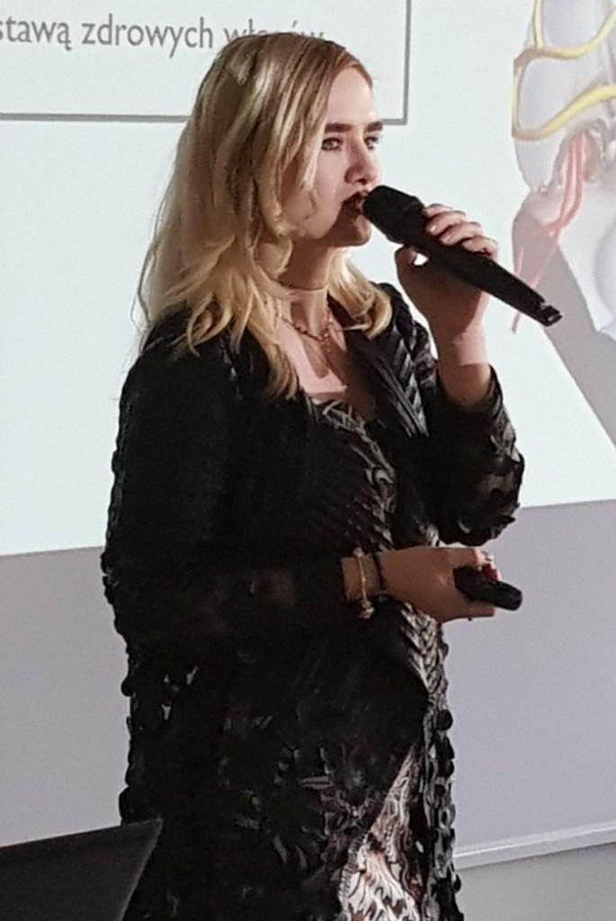 Karolina Marcinkowska, VI Kongres Trychologiczny 2019