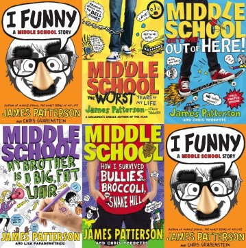 middle-school-series-books