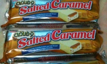 Salted Caramel Cloud 9 Bars