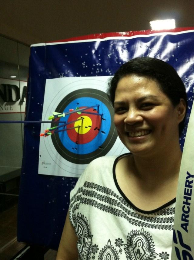 kodanda archery range class lifestyle mommy blogger www.artofbeingamom.com 11