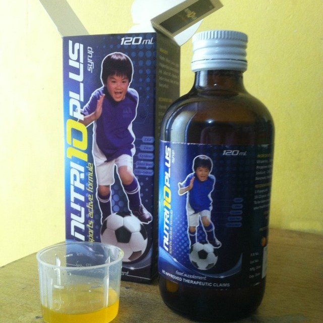 Nuti10 Plus Syrup for Active Kids