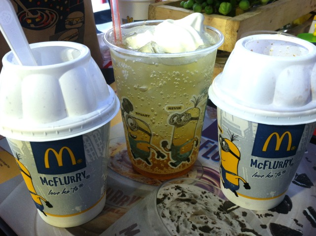 mcdonalds minions at mcdo banana desserts lifestyle mommy blogger www.artofbeingamom.com 02