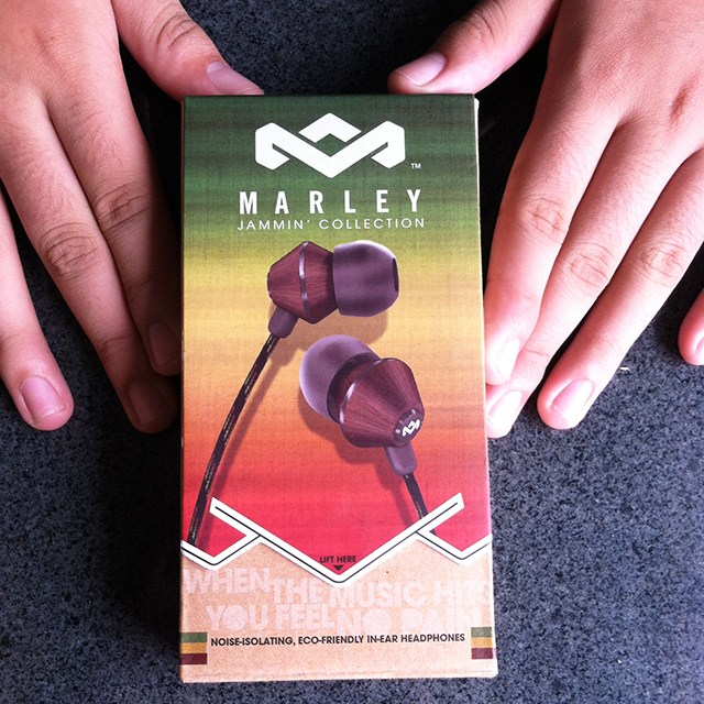 Unboxing Marley Jammin Collection In Ear Headset