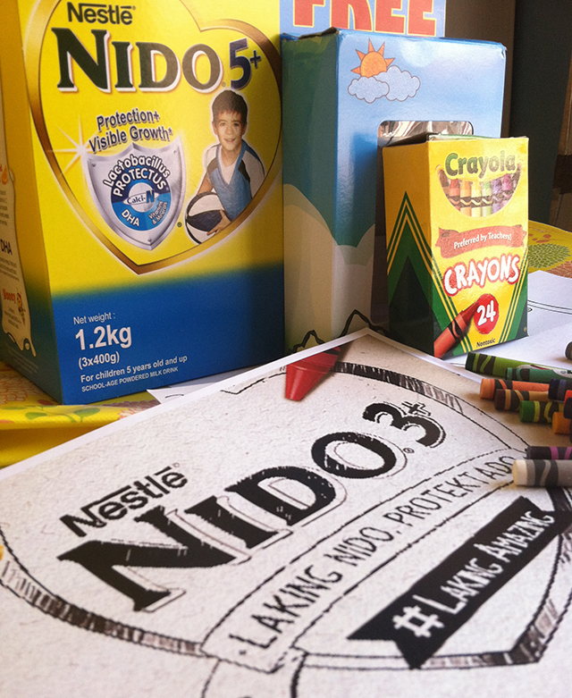 nido 5+ milk nestle laking amazing crayola bundle lifestyle mommy blogger www.artofbeingamom.com 02