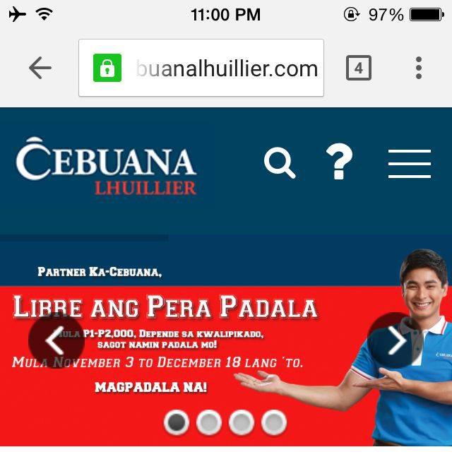 cebuana lhuillier pawnshop pera padala online website lifestyle mommy blogger www.artofbeingamom.com 04