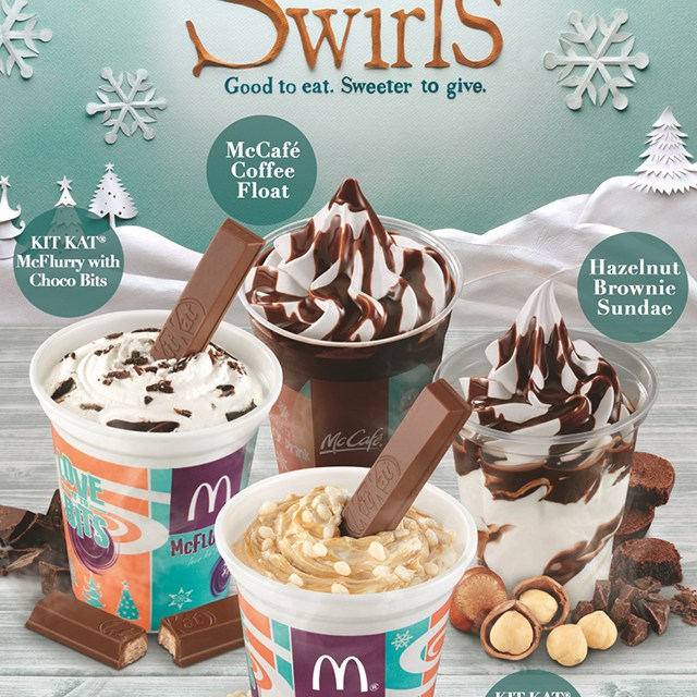 A Thanksgiving Affair: McDonalds Holidays Desserts and The McGriddle