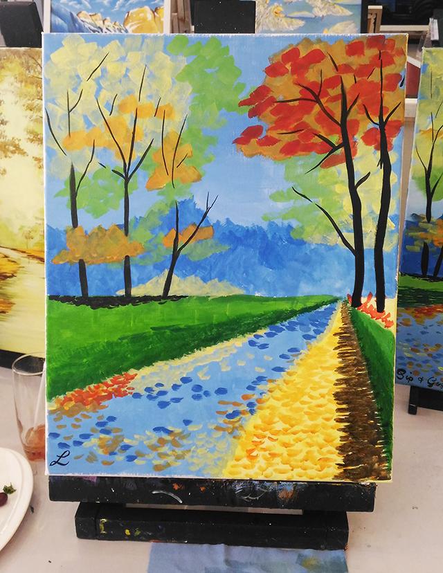 sip n gogh painting lifestyle mommy blogger www.artofbeingamom.com 08