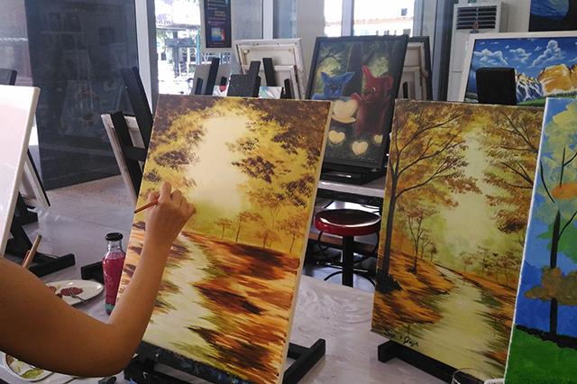 sip n gogh painting lifestyle mommy blogger www.artofbeingamom.com 11
