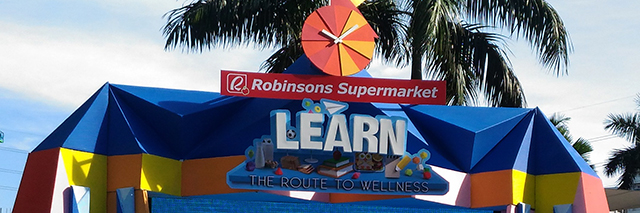 Robinsons Supermarket Route to Wellness Learn Promo