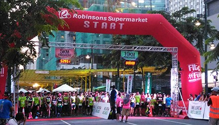The 9th Robinsons Supermarket's Fit and Fun Wellness Buddy Run