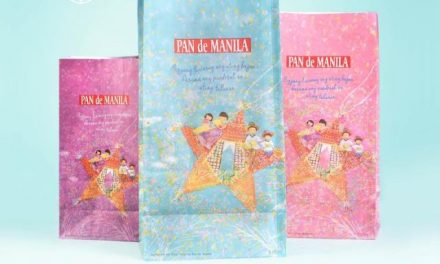 Filipino Family is Centerpiece of 2016 Pan de Manila Christmas Paper Bags