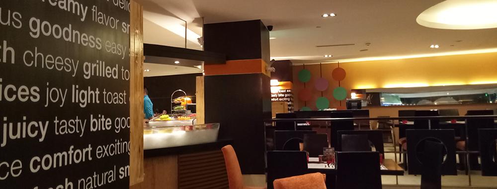 International Buffet Cuisine at Latitude Hotel Jen Manila