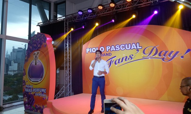 Piolo Pascual Fans Day and Tide Perfume Fantasy