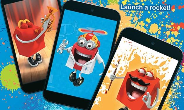 Play the McDonalds Happy Studio App!