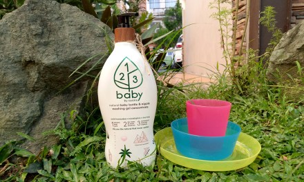 123 Baby by Cusina: Natural Baby Bottle Wash