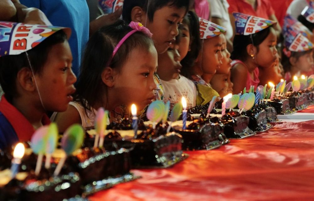 Red Ribbon Brings a Memorable Birthday to Our Lady of Manaoag Little Patrons