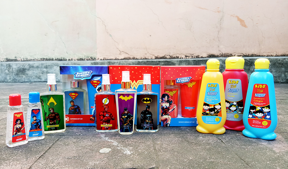 Be a Justice League DC Superhero with Tupperware Brands Fragrance Gift Sets