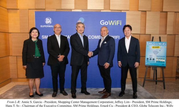 SM and Globe Team Up to Boost Supermall Internet