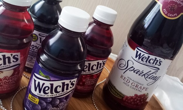 Have Welchs Sparkling Juice Mocktails this Christmas for a Light and Bubbly Holiday Celebration