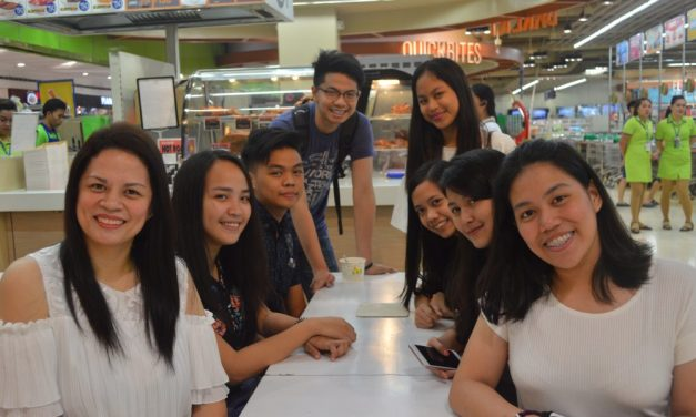 Interview with FEU Manila High School Humanities and Social Sciences Strand Students- Being a Mommy Blogger