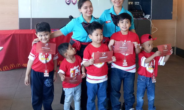 Jael's Week as a McDonalds Kiddie Crew