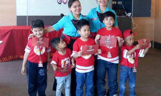 Jael's Week as a McDonalds Kiddie Crew