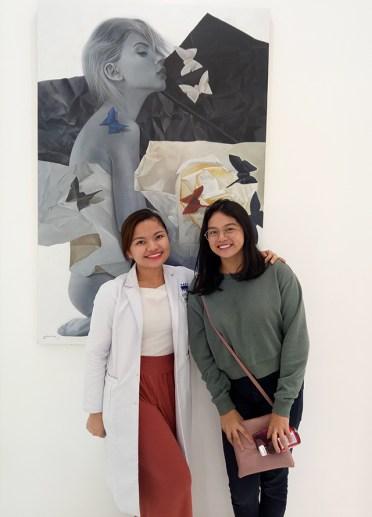 Kianna with Dr. Tina Robles