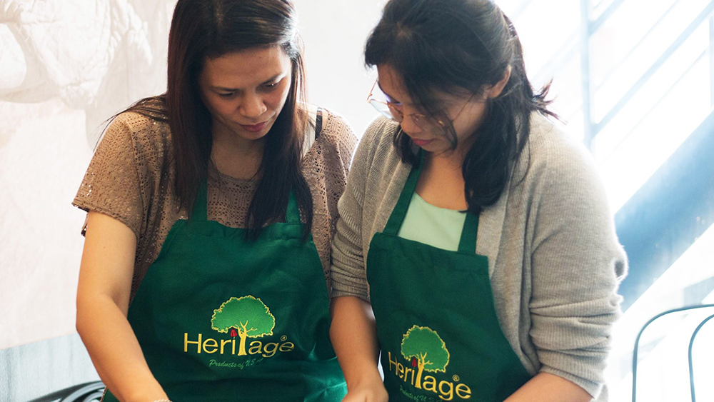 Thai Cooking Class with Heritage Nuts at Thai Queen Arkipelago Makati