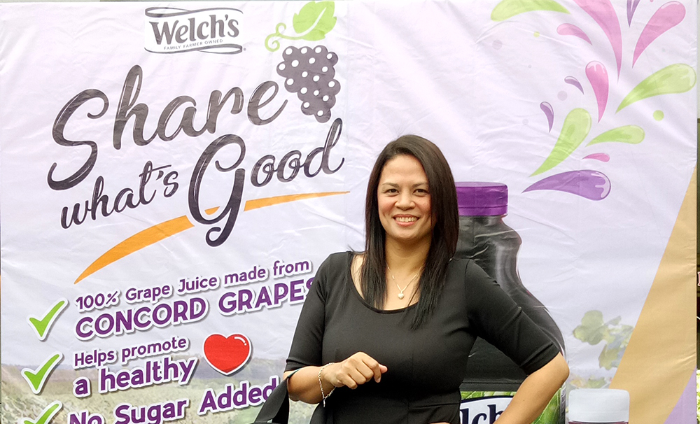 #DiscoverWhatsGood with Welchs Grape Juice: Real Fruit Juice