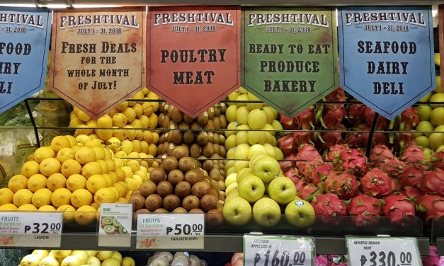 Healthy and Affordable Choices at Robinsons Supermarket's Freshtival